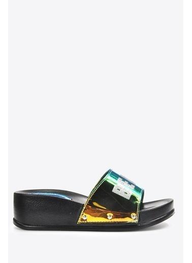Vizon Ayakkabı Terlik Yeşil